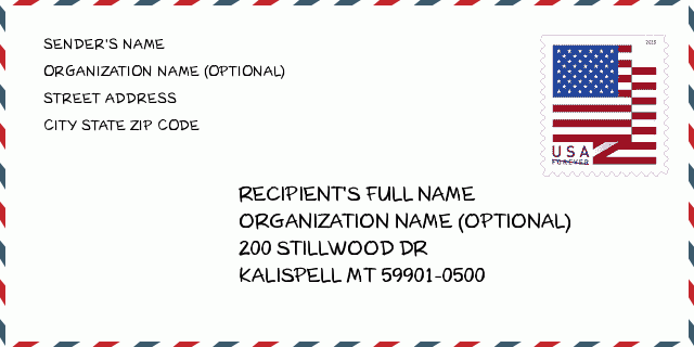 ZIP Code 5: 59901 - KALISPELL | Montana United States ZIP